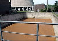 Entwässerung von Schlämmen aus der LUVO – Reinigung
