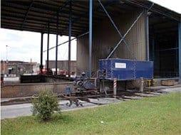 Einsatz im Stahlwerk