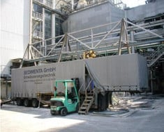 Einsatz in einer Müllverbrennungsanlage