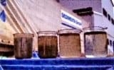 Geflocktes Waschwasser